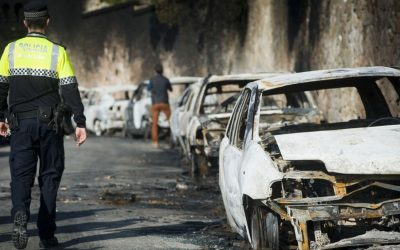 Si me queman el coche en la calle ¿Quien lo paga?